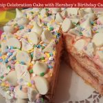 Cherry Chip Celebration Cake with Hershey's Birthday Cake Kisses